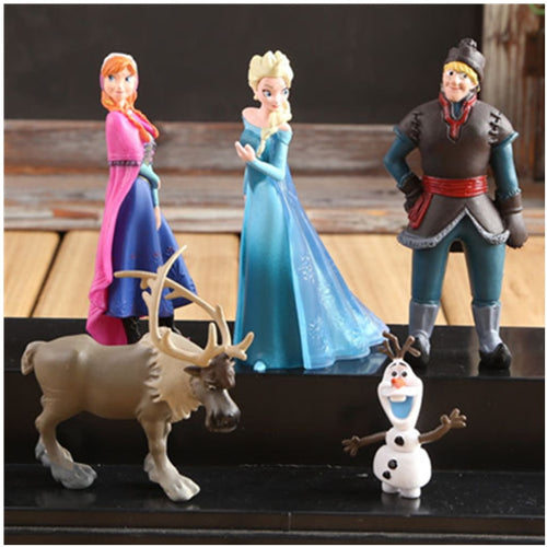 Disney Frozen 5 pcs Action Figures - IsleOfGifts