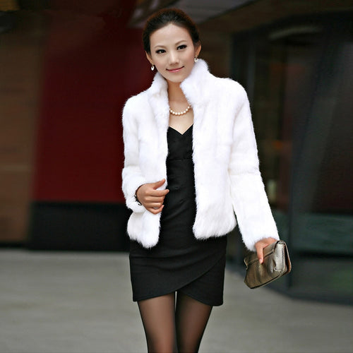 Women Winter Fur Warm Coat