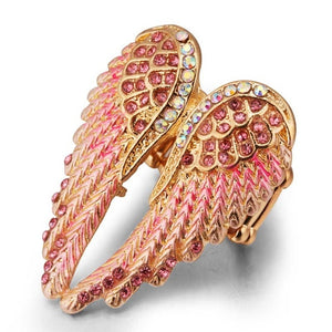 Angel wings Ring - IsleOfGifts