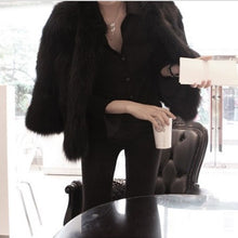 Load image into Gallery viewer, Winter Women Soft Faux Fur Coat Jacket