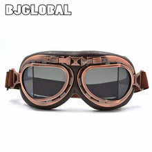 Load image into Gallery viewer, WWII Vintage Motorcycle Goggles