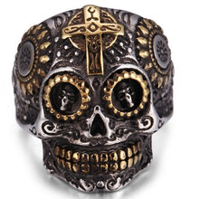 Load image into Gallery viewer, Halloween skull ring - IsleOfGifts