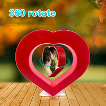 Load image into Gallery viewer, Floating Red Heart Magnetic Levitation Pictures Frame - IsleOfGifts
