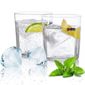 Diamond-Shaped Ice Cube Tray Silicone Easy Release - IsleOfGifts