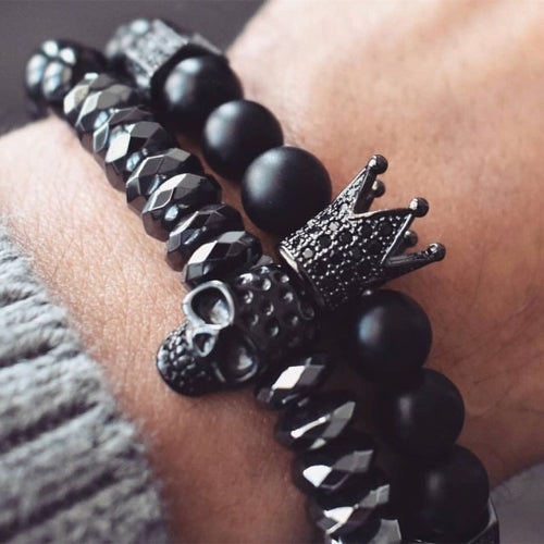 Men Bracelet: Crown Warrior - IsleOfGifts