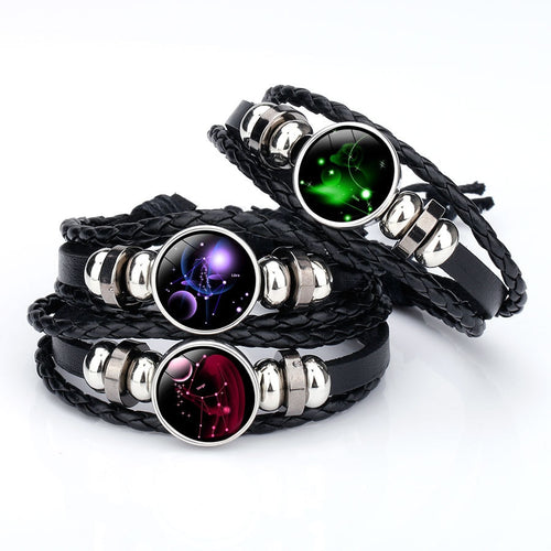 12 Zodiac Multi Layer Bracelet - IsleOfGifts