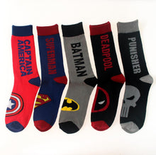 Load image into Gallery viewer, MARVEL COMICS Super Hero Kids Cotton Socks - IsleOfGifts