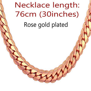 Cuban link chain necklace for boys 9MM - IsleOfGifts