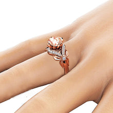 Load image into Gallery viewer, Zircon Rose Gold Ring