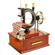 Load image into Gallery viewer, Vintage Sewing Machine Music Box