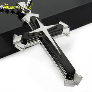 Stainless Steel Cross Pendant - IsleOfGifts