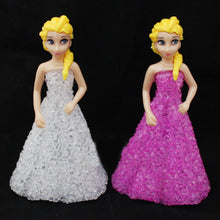 Load image into Gallery viewer, Kids Toys: Elsa/ Anna LED Colorful Lights gradient crystal Night Light - IsleOfGifts