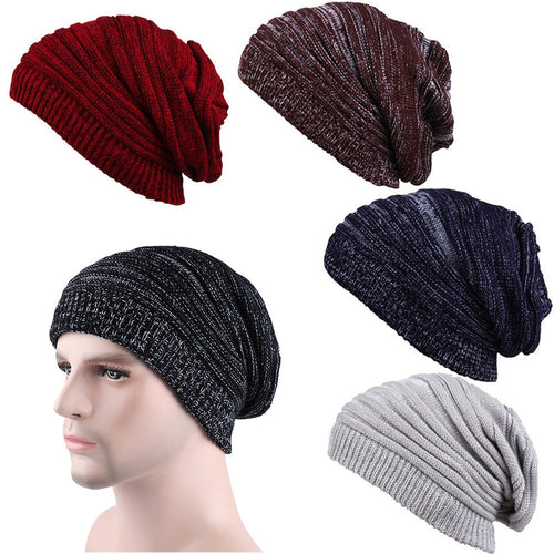 Casual Warm Crochet Hats Knitted Wool - IsleOfGifts