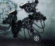 Load image into Gallery viewer, Black Lace Necklaces - IsleOfGifts