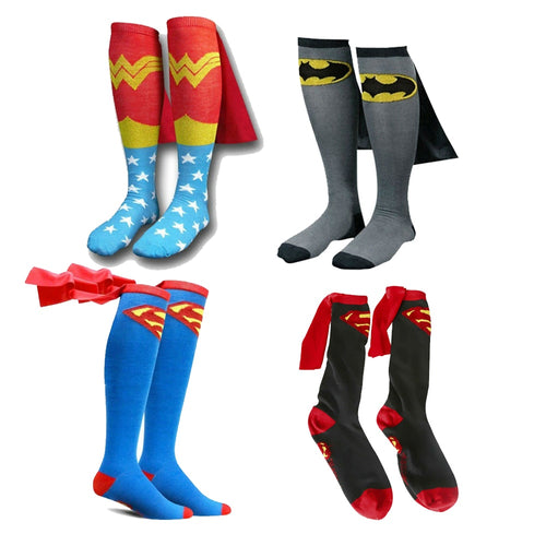 MARVEL Super Hero Kids Cotton Socks - II - IsleOfGifts