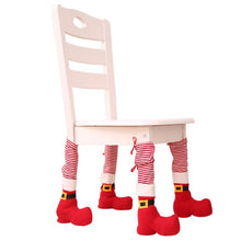 Load image into Gallery viewer, Christmas Table Leg Covers - IsleOfGifts