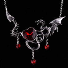 Load image into Gallery viewer, Halloween Game of Thrones Dragon Necklace - IsleOfGifts