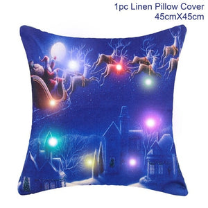 Christmas Pillow Case Cushion Covers - IsleOfGifts