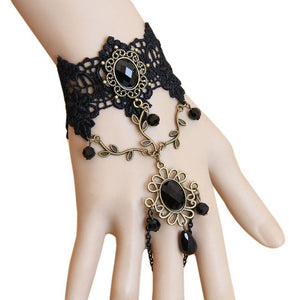 Black Lace Bracelet - IsleOfGifts