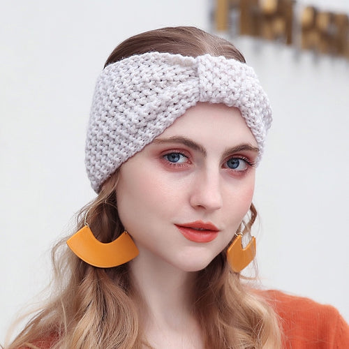 New Winter Warmer Ear Knitted Headband Turban - IsleOfGifts