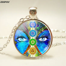 Load image into Gallery viewer, Seven Chakra Pendant Necklace - IsleOfGifts