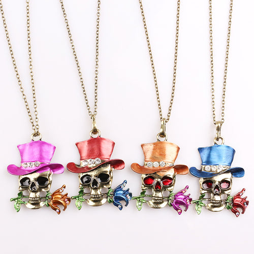 Skull Necklace - IsleOfGifts