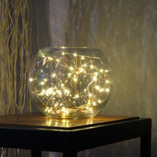 Load image into Gallery viewer, Button Cell Powered Silver Copper Wire Mini Fairy String Lights With 20LED Beads - IsleOfGifts