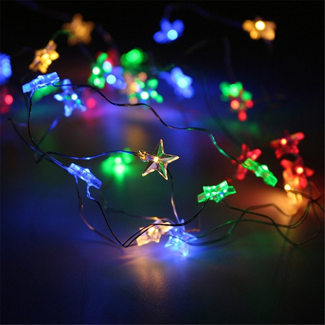 Star Light With 50 LED Beads AA Battery for Wedding Party Table Decoration Light - IsleOfGifts