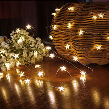 Load image into Gallery viewer, Star Light With 50 LED Beads AA Battery for Wedding Party Table Decoration Light - IsleOfGifts