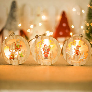 LED Wood Light for Christmas Tree Decorations - IsleOfGifts
