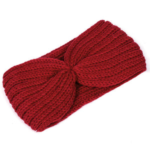 Winter Fashion Knitted Wool Headband For Women