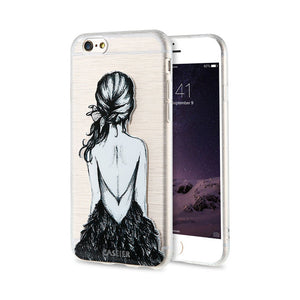Fashion Patterned Phone Cases For iPhone Soft Silicone - IsleOfGifts