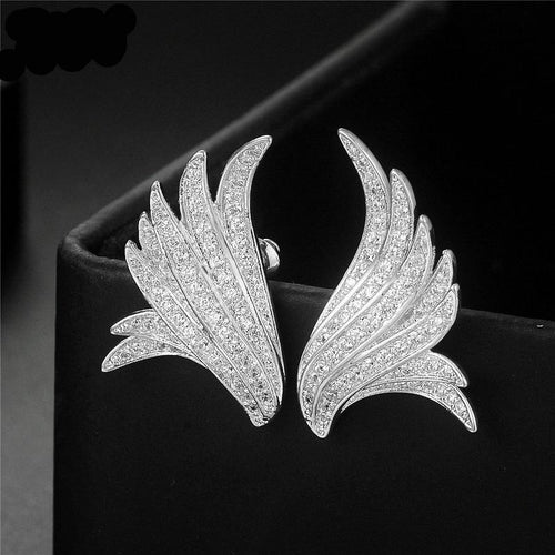 New Design Angle Wings Stud Earrings - IsleOfGifts
