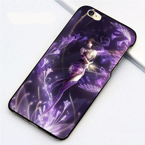 iPhone Case GOTHIC PURPLE FAIRY - IsleOfGifts