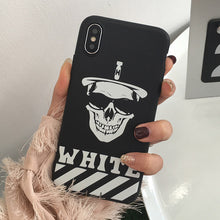 Load image into Gallery viewer, Skull iPhone Case - IsleOfGifts
