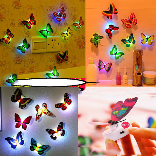 2pcs/lot Cute LED Color Changing Beautiful Butterfly - IsleOfGifts