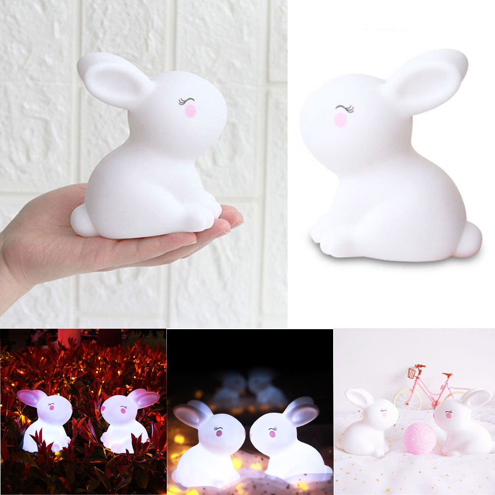 Cute Rabbi LED Night Light - IsleOfGifts