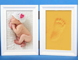 New Born  Hand/Foot print Air Drying Kit (Frame not included) - IsleOfGifts