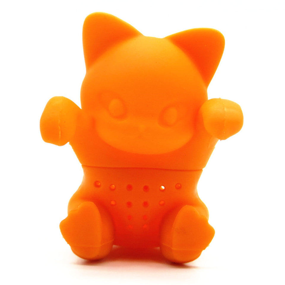 Cute Kitten Silicone Tea Infuser