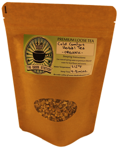 Organic Cold Comfort Herbal Tea (Clearance Bag)