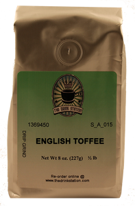 English Toffee Flavored Coffee