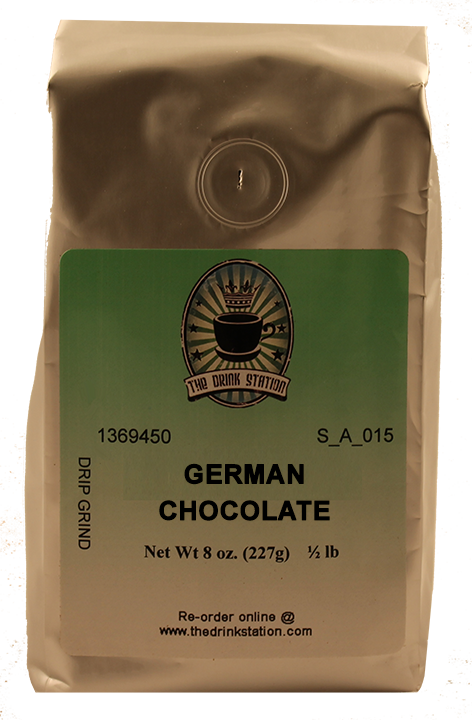 German Chocolate Flavored Coffee
