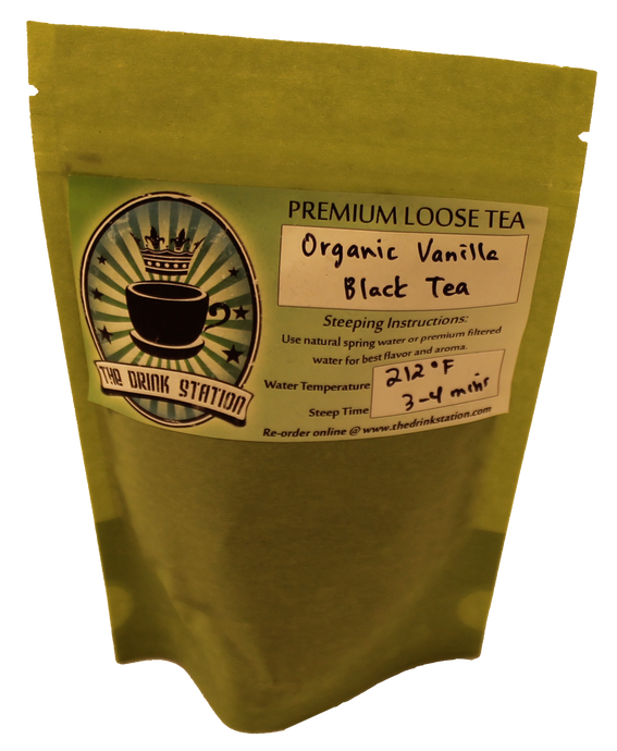 Organic Vanilla Black Tea (Clearance Bag)