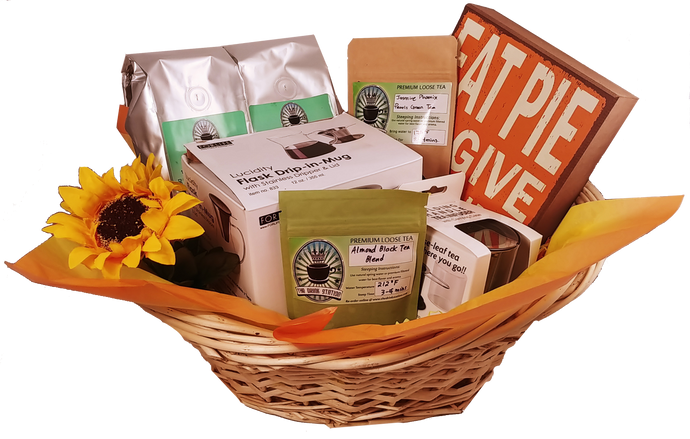 Autumn Harvest Coffee and Tea Gift Basket