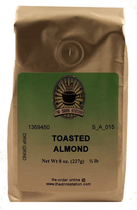 Toasted Almond Flavored Coffee