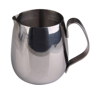 Drum Shape Milk Steaming Pitcher