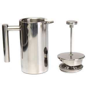 12oz Double Wall Stainless Steel French Press