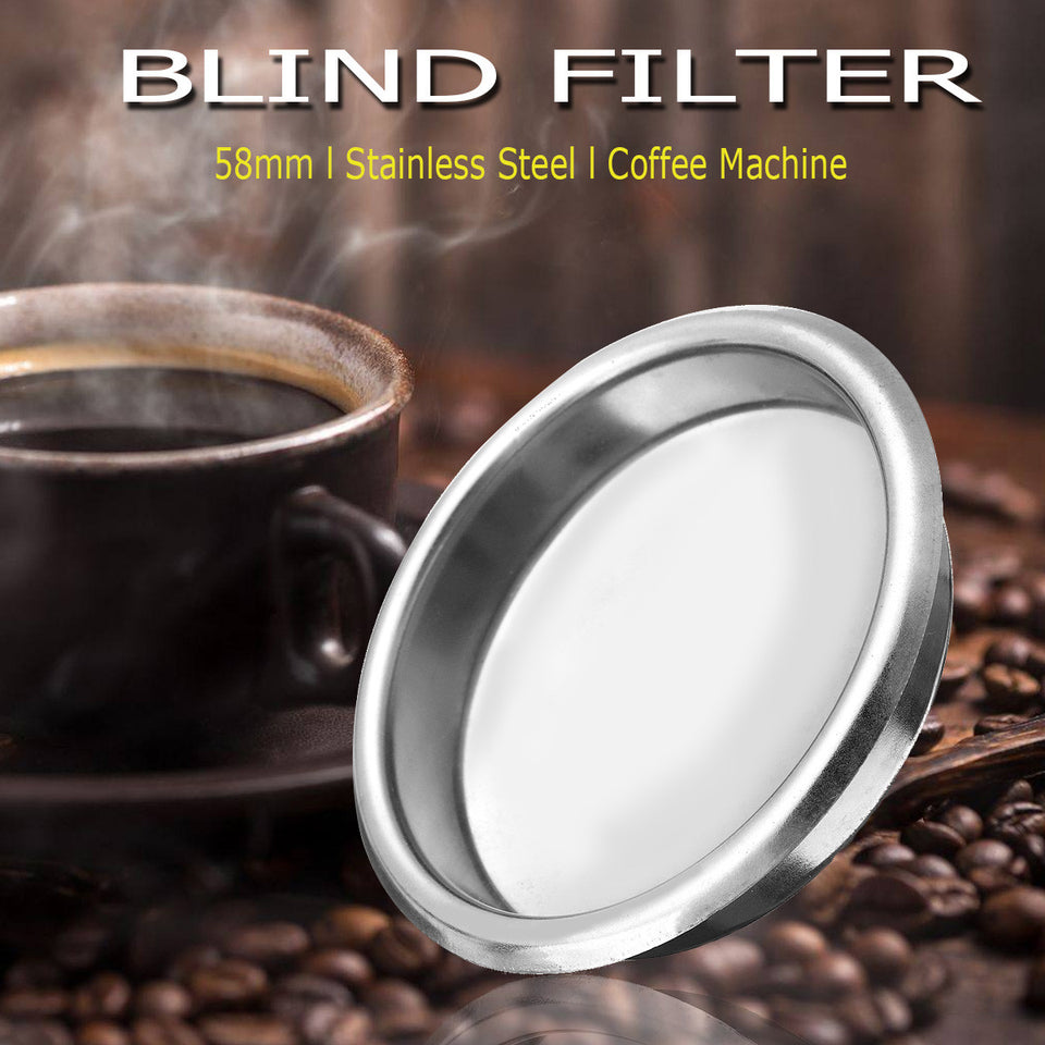 58mm Stainless Steel Blind Filter