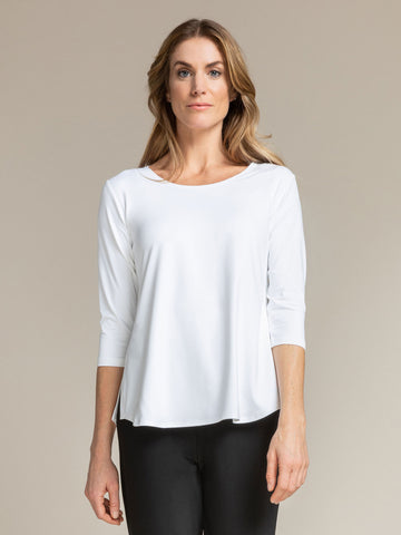 Sympli Go To Classic T Relax, 3/4 Sleeve