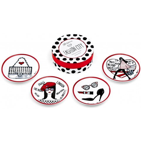 Brighton Fashion City Coaster Set